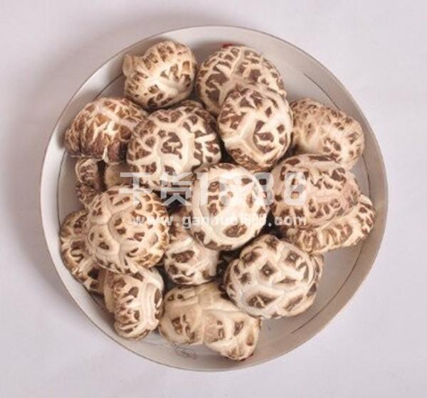 干香菇 A级白花菇  3cm 500g一袋